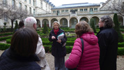 The AACRAO delegation visiting a Classes Preparatoires aux Grandes Ecoles in Paris